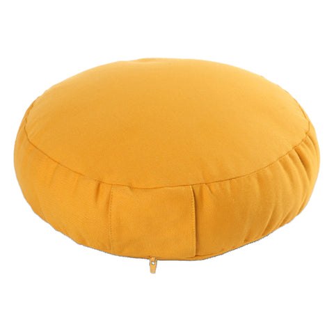 Round Meditation cushion with handle loop 7 cm height *5 colours*