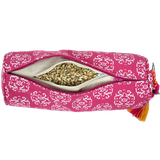 Printed Meditation cushion / Small Bolster  *3 colours*