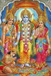 Rama Family Extra Thick Postcard