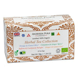 100% Organic Ayurvedic Herbal Tea Collection - Four blends