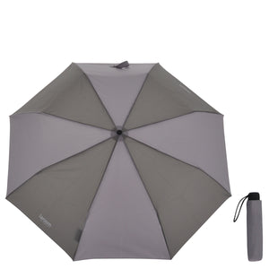 "Umbrella ""mini"" clear grey with steel shaft"
