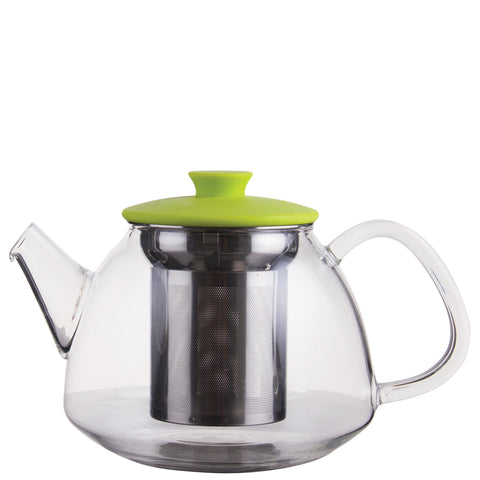 Glass Teapot with S.S. strainer 500ml Green