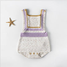 Load image into Gallery viewer, Aria knitted baby romper
