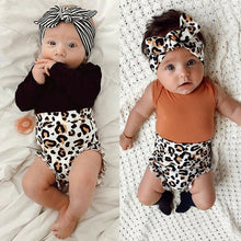 Load image into Gallery viewer, Ryann 3 piece leopard set