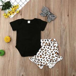 Ryann 3 piece leopard set