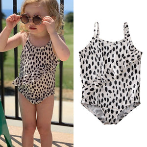 Emily one piece leopard swimsuit