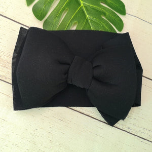 Gigi big bow headband