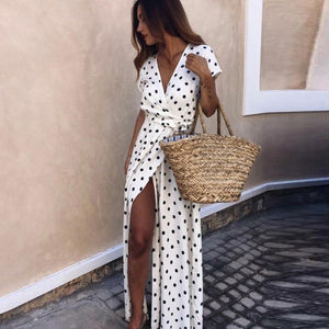 Dana polka dot dress