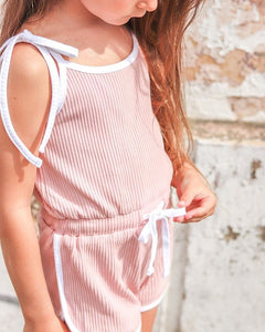 Donna retro summer jumpsuit