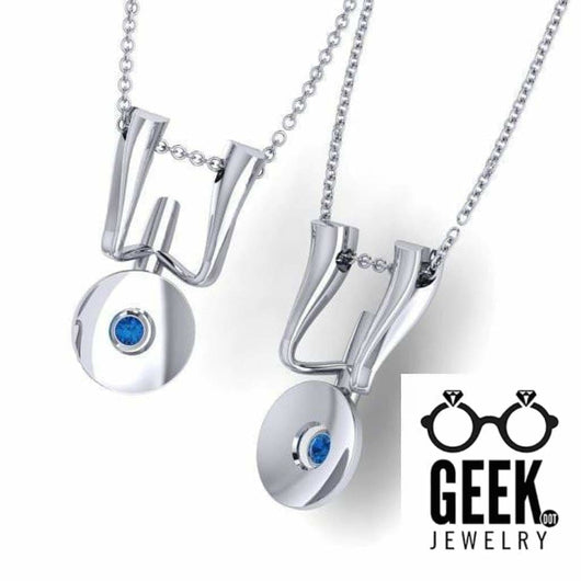 Geek Dot Jewelry Pendants & Charms Boldly 2, Enterprising Necklace, Love This Spaceship!
