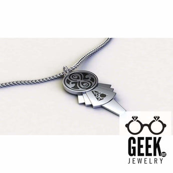 Geek Dot Jewelry Necklace Whovian Key To My TARDIS- NEW!!!