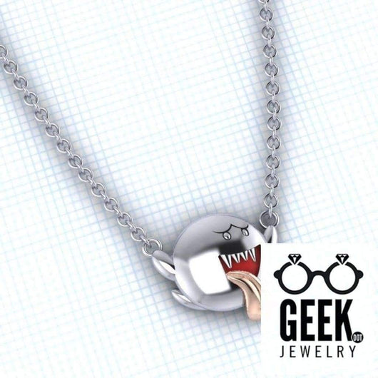 Geek Dot Jewelry Pendants & Charms Boo Who? Don't be Affraid