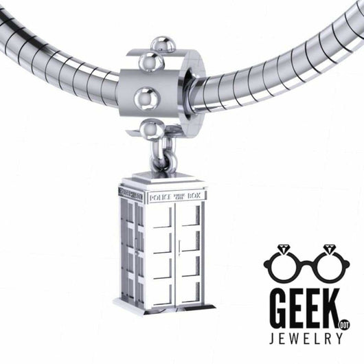 Geek Dot Jewelry Pendants & Charms Flying Call Box Charm TARDIS