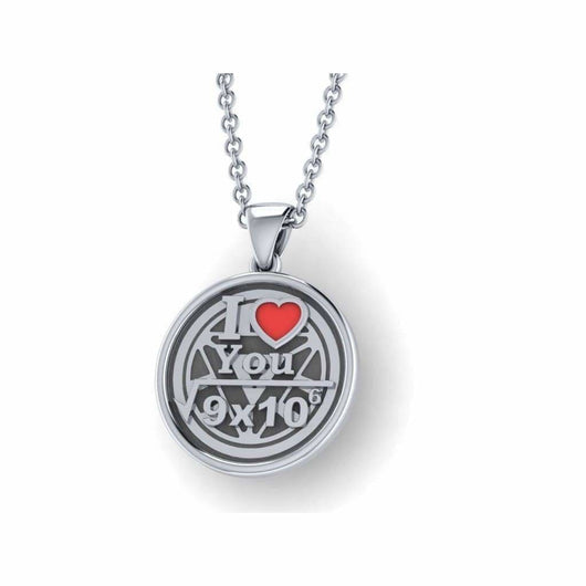 Geek Dot Jewelry Pendants & Charms I Love You- Do The Math