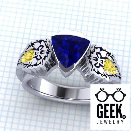 Geek Dot Jewelry Ring Allied In Love. The Original!