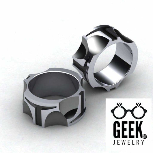 Geek Dot Jewelry Ring BoBa Band -  All sizes