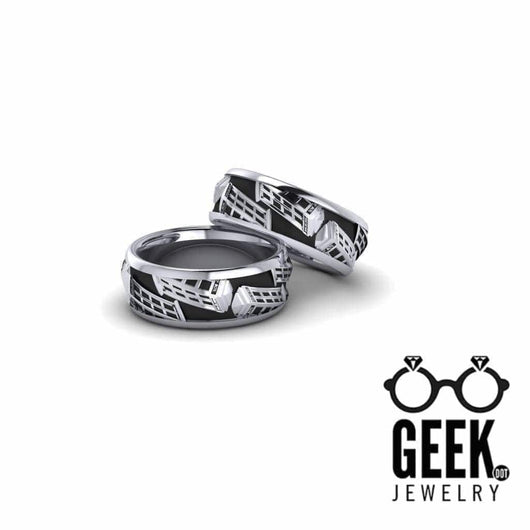 Geek Dot Jewelry Ring Call Box Band- Gents