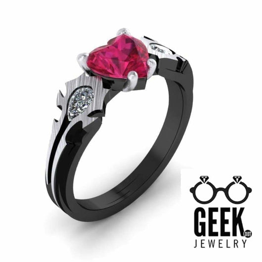 Geek Dot Jewelry Ring Horde My Love Ring - The Original!