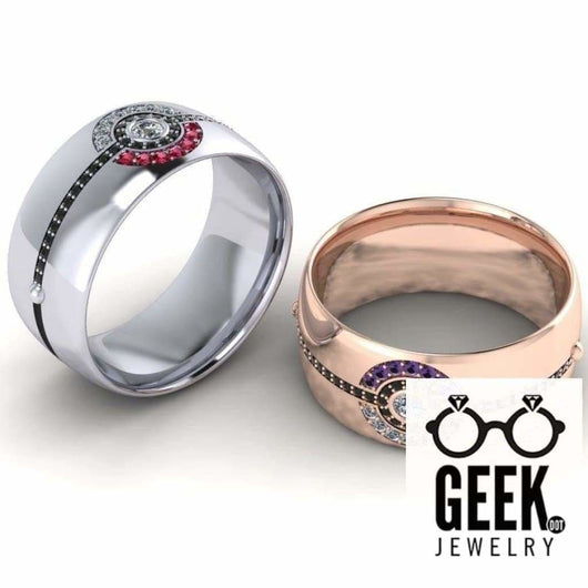 Geek Dot Jewelry Ring Poke Band for The Guys! -GENTS
