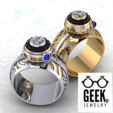 Geek Dot Jewelry Ring The Ultimate BB Spinner Ring- Ladies