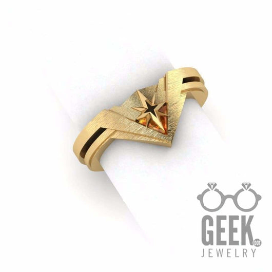 Geek Dot Jewelry Ring The Wondrous Woman