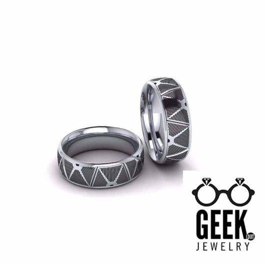 Geek Dot Jewelry Ring Tie-The-Knot Bands- Gents