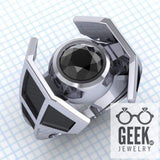 Geek Dot Jewelry Ring Tie The Knot Ring. - Ladies