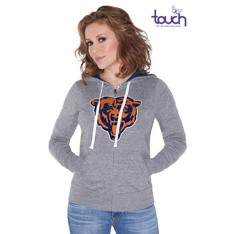 Womens Chicago Bears Teagan Full Zip Hoodie