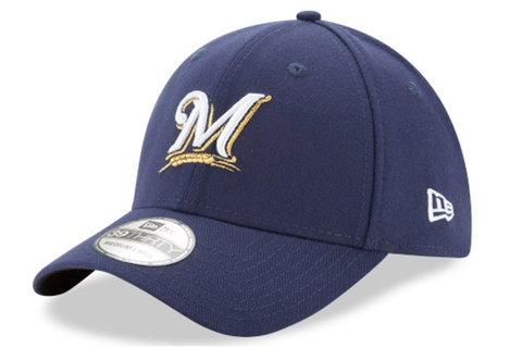 New Era Milwaukee Brewers Team Classic 39THIRTY Flex Cap