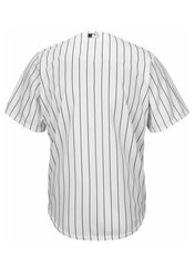 Custom Chicago White Sox Men's Nike Home Pinstripe Replica Cool Base Jersey