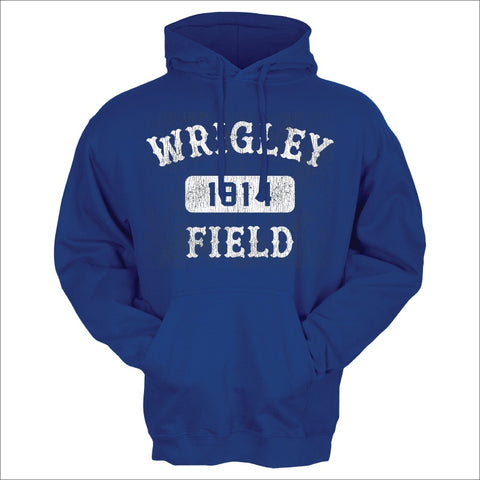 Men's Wrigley Field Royal Arch And Box Hoodie