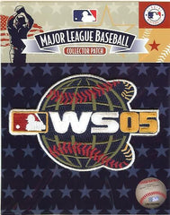 2005 World Series Sleeve Patch Official MLB Licensed White Sox over Astros