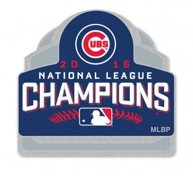 Chicago Cubs 2016 National League Champions Collectors Lapel Pin