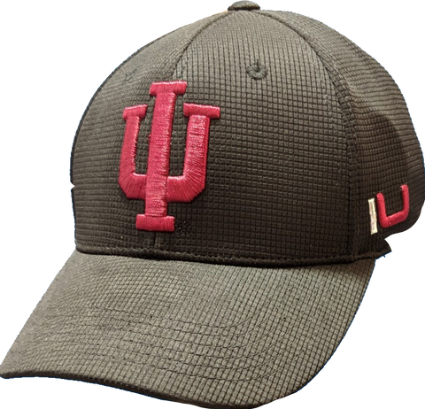 Mens Indiana Hoosiers Iron Side One Fit Flex Fit Hat By Top Of The World