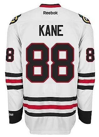 Mens Chicago Blackhawks Patrick Kane Edge 2 Authentic Road Jersey by Reebok