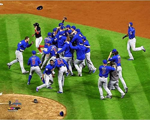 "Chicago Cubs 2016 World Series Celebration Aerial Photo (Size: 8"" x 10"")"