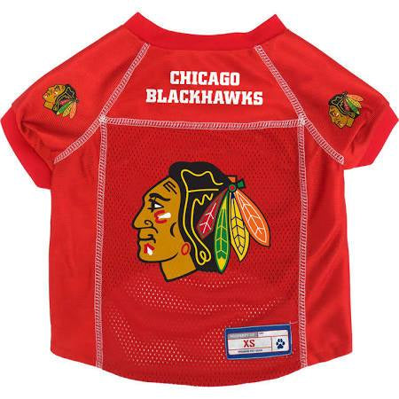 NHL Chicago Blackhawks Red NHL Pet Jersey