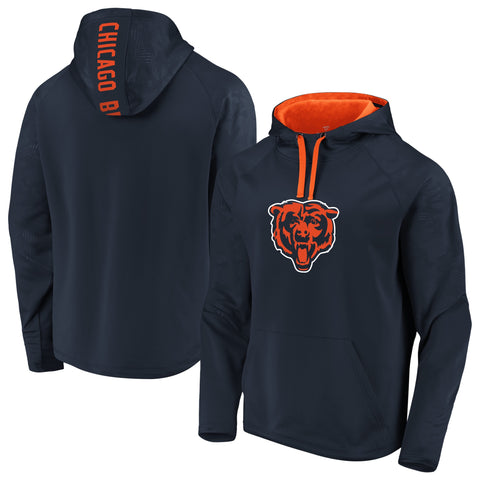 Men's Chicago Bears NFL Fanatics Branded Navy primary Hoodie