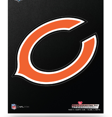 Chicago Bears Die-Cut Magnet