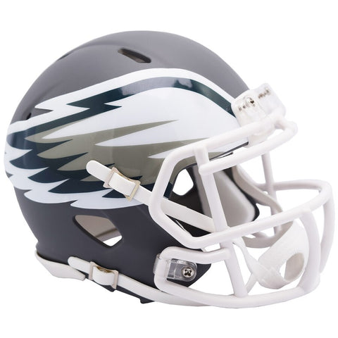 Philadelphia Eagles Riddell AMP Alternate Revolution Speed Mini Football Helmet