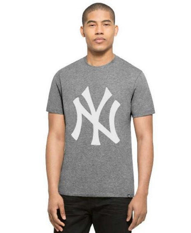 '47 Brand Men's New York Yankees Gray Primary Logo Club Tee