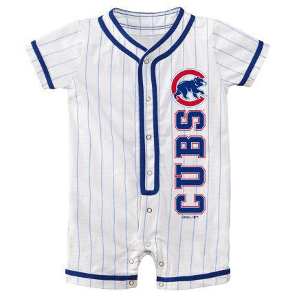 Newborn/Infant MLB Chicago Cubs Game Ready Short Sleeve Coverall