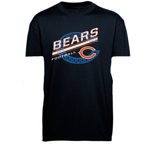 Chicago Bears Youth Serious Business T-Shirt - Navy Blue