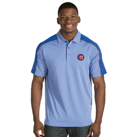 Antigua Mens Chicago Cubs Sustain Polo