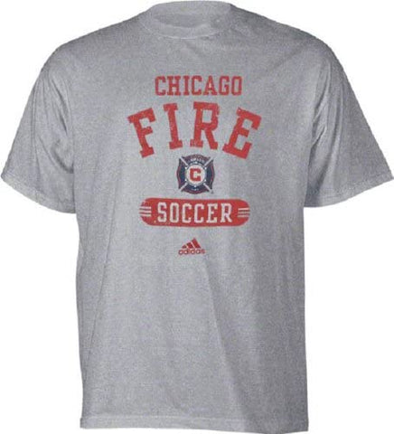 Chicago Fire Toddler adidas Soccer Field Practice T-Shirt