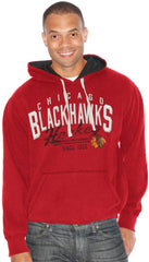 Chicago Blackhawks Field Goal Pullover Hoody by G-III