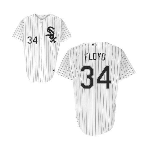 Mens Chicago White Sox Gavin Floyd Authentic Home Polyester Jersey