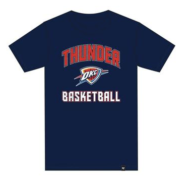 Men's Oklahoma City Thunder Super Rival Tee By '47 Brand