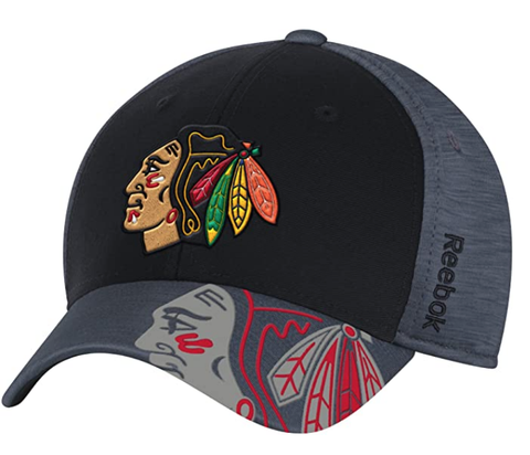 Chicago Blackhawks 2017 Stanley Cup Playoffs Flex Fit Hat By Reebok