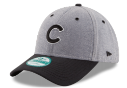 Men's Chicago Cubs Gray/Black Oxford Adjustable New Era Hat